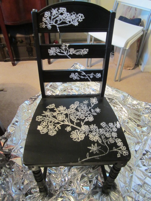 Chalkboard chair 1